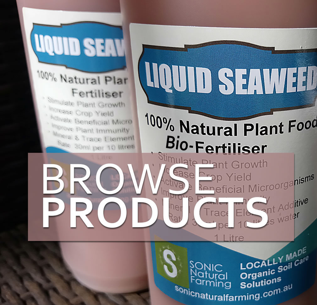 Seaweed Bio-Fertiliser 1 litre